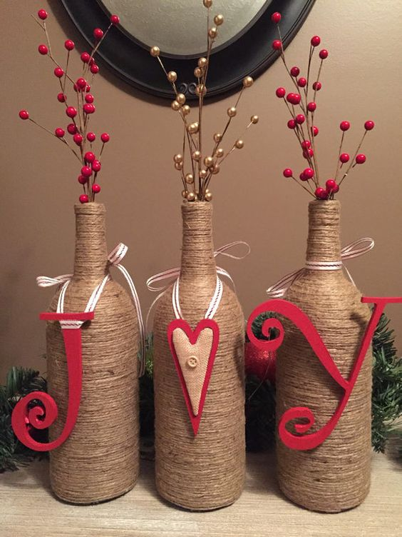 60 Amazing Diy Wine Bottle Crafts Crafts And Diy Ideas