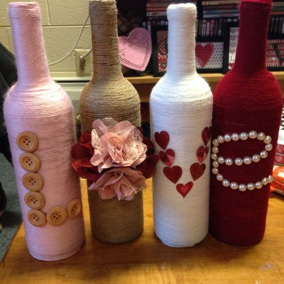 60 amazing diy wine bottle crafts crafts and diy ideas for Diy wine bottle gifts