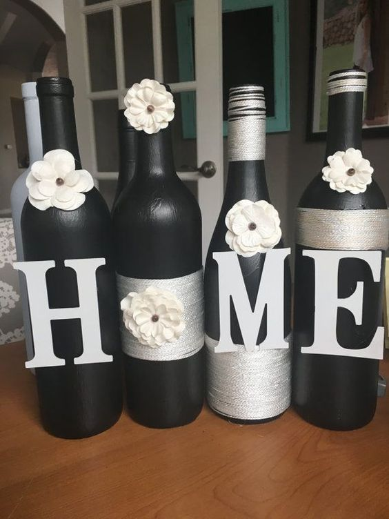 60 Amazing Diy Wine Bottle Crafts Crafts And Diy Ideas