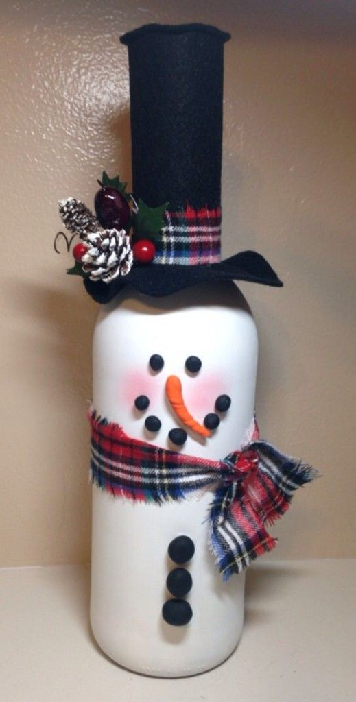 Diy Wine Bottle Crafts For Christmas Image Collections Bottle