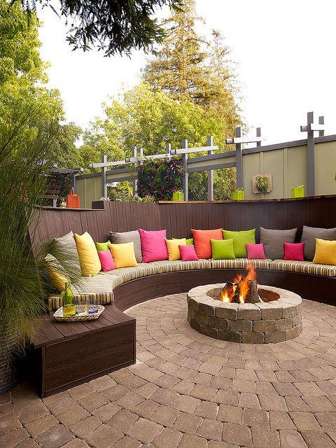 Amazing 50+ DIY pergola and fire pit ideas - Crafts and ... on Pergola Fire Pit Ideas id=39503