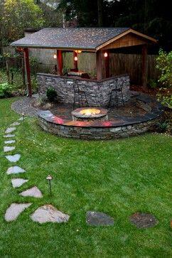 Amazing 50+ DIY pergola and fire pit ideas - Crafts and ... on Pergola Fire Pit Ideas id=32101