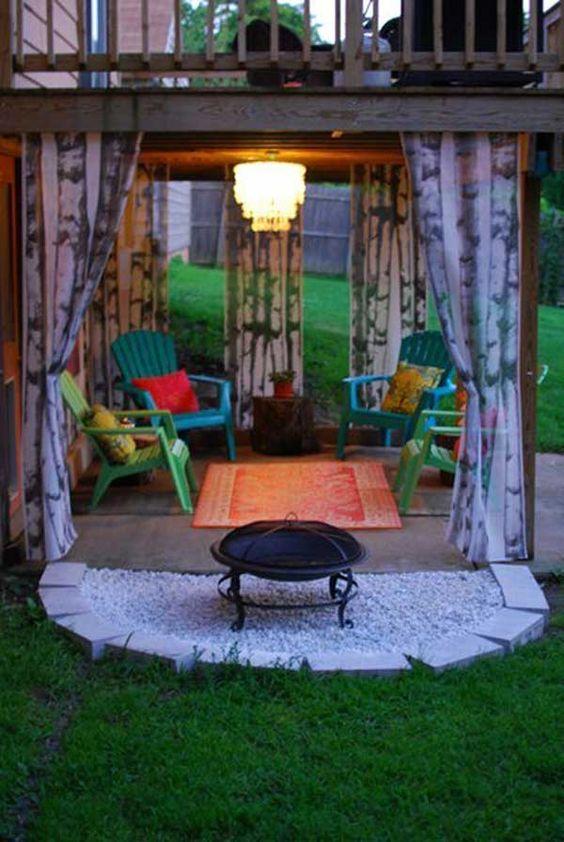 Amazing 50+ DIY pergola and fire pit ideas - Crafts and ... on Pergola Fire Pit Ideas id=73240