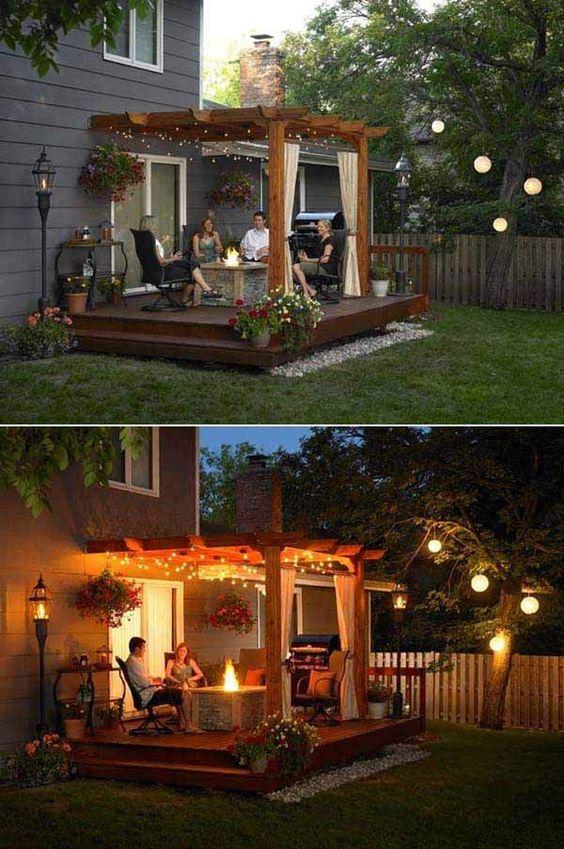 Amazing 50+ DIY pergola and fire pit ideas - Crafts and ... on Pergola Fire Pit Ideas id=92312