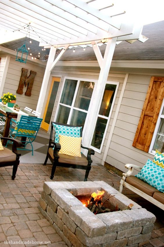 Diy Outdoor Fire Pit Ideas Stones