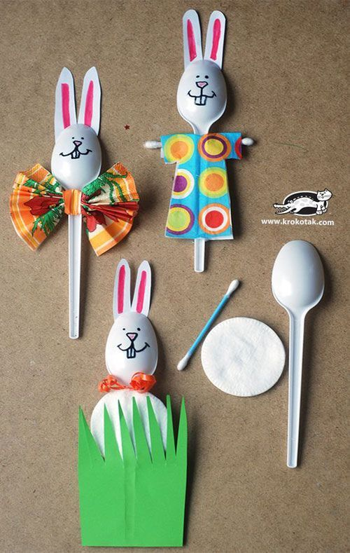 Craft Ideas For Kids Part - 28: 30+ DIY Easter Crafts For Kids To Make This Holiday Season - Crafts And DIY  Ideas