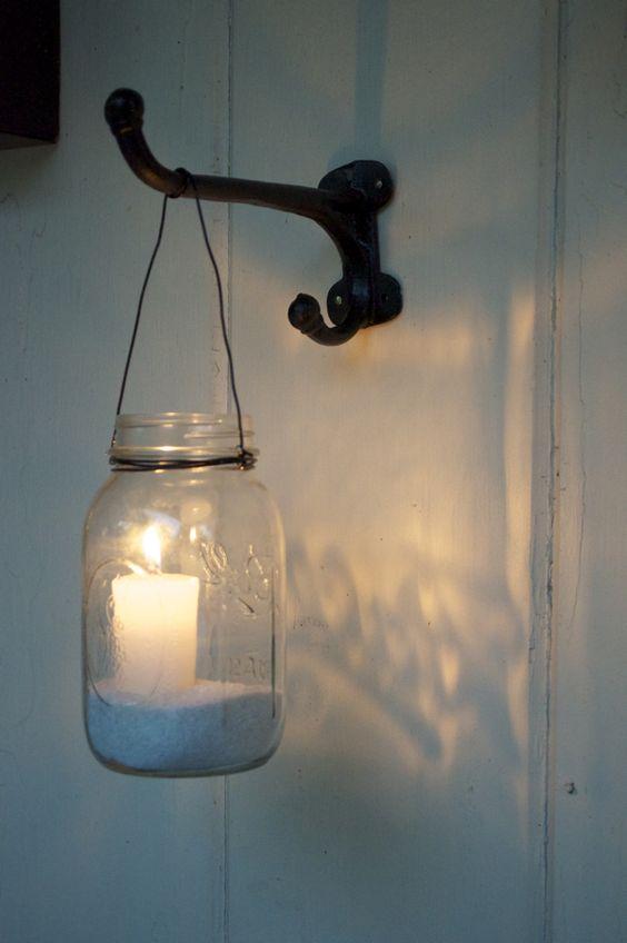 Diy Exterior Wall Lights : 50+ Stunning & Easy DIY Outdoor Lights - Crafts and DIY Ideas