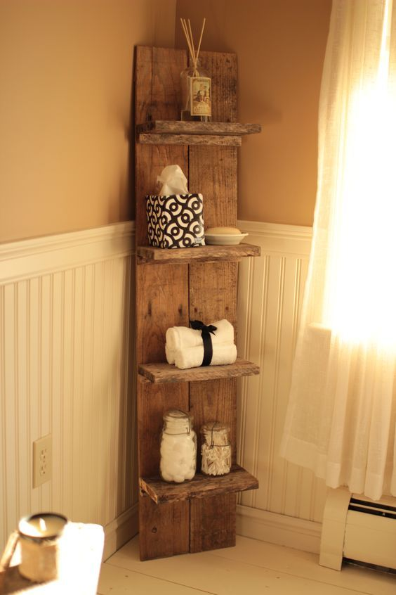 The best 60 diy pallet projects for your bathroom for Pallet bathroom ideas