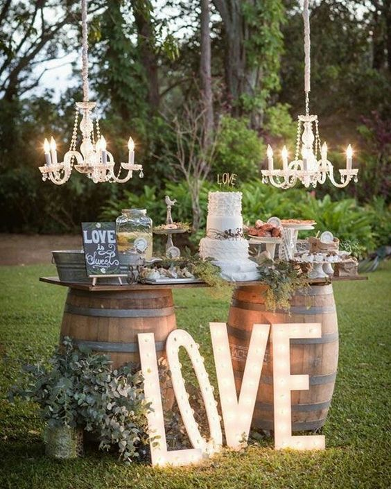outdoor wedding reception decor 70 diy wedding decorations that will your mind 6330