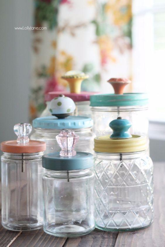 50 Cute Diy Mason Jar Crafts Diy Projects For Anyone Crafts And Diy Ideas